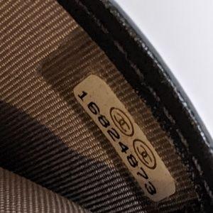 CHANEL Bags - Chanel Grey Boy Bi-fold Patent Leather Wallet